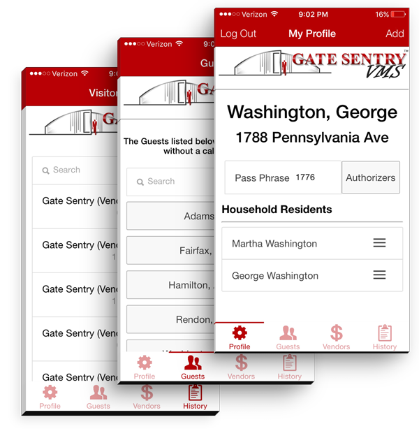Visitor Management Systems - App View