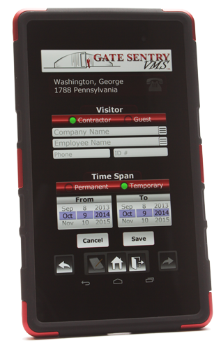 Visitor Management Systems - iPad