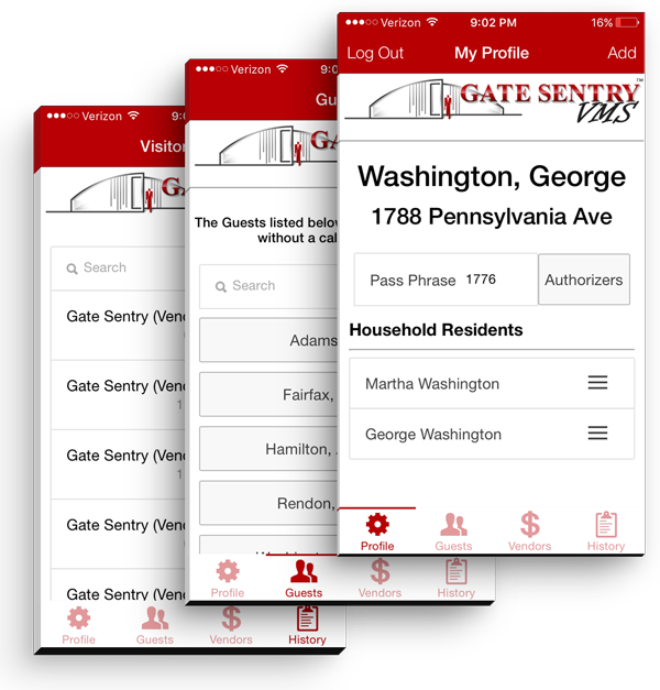 Visitor Management Systems - App